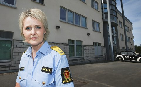 Politimester Heidi Kløkstad understreker at det er nulltoleranse for slik type atfert i politidistriktet.  .Foto: Tom Melby