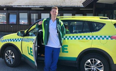Virusfare: Ingar Strand (28) er kommuneoverlege i Sørfold kommune og han informerer nå at coronaviruset som preger flere land, også kan spre seg til Nordland.