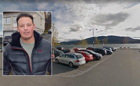 Bård Larsen ser ut til å få midler til oppstart av fiskemottak og produksjonssted i Fauske sentrum.. Foto: Google Maps/Christian A. Unosen