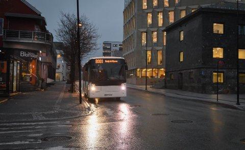 Høyre frykter at veksten i bruk av kollektivtilbud i Bodø vil stoppe opp og kanskje reverseres.