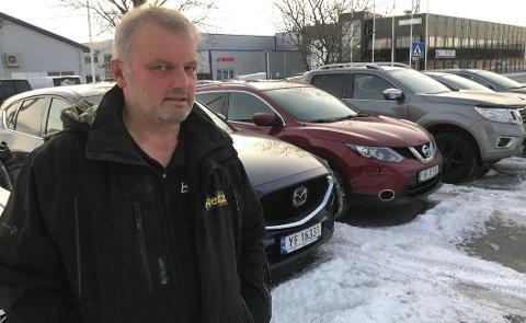 Daglig leder Gøran Imingen i Hertz i Bodø.