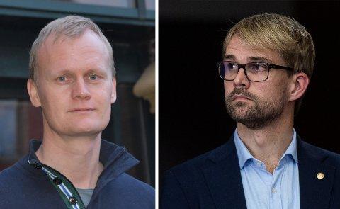 Jussprofessor Hans Fredrik Marthinussen og byrådsleder Roger Valhammer tolker mulighetene i lovverket på ulikt vis.