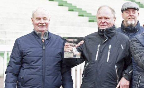 Tom Carstensen (t.v.), Rune Johan Madsen og Einar L. Eriksen eier det lokale håpet i Oslo Gran Prix.