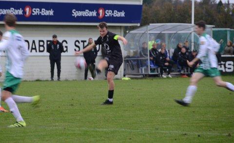 Lokaloppgjør: Randabergkaptein Vegard Meling Nesse ser fram til en viktig fotballkamp mot Sunde i Kvernevik på torsdag.