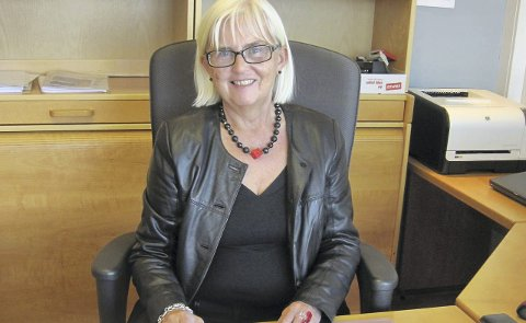 – INGEN DRAMATIKK: Fylkesmann Helen Bjørnøy forsikrer at ingen ansatte hos Fylkesmannen i Buskerud mister jobben som følge av at hovedsetet legges til Moss.