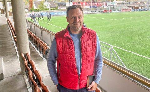 OPTIMISTISK: Trond Stabekk, styreleder i MIF Fotball, mener klubben er i rett utvikling til tross for at laget sliter med å vinne i Eliteserien.