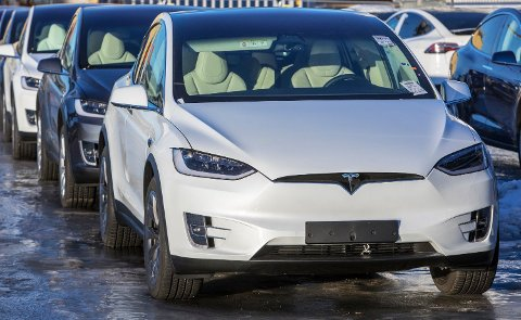 NYE TALL: Ifølge Finansdepartementet subsidieres elbiler med 19,2 milliarder kroner i 2020. Foto: Ole Berg-rusten (NTB scanpix)