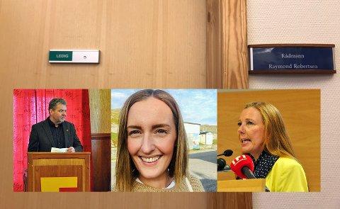 Roger Hansen, Stine-Mari Strifeldt og Kari Lene Olsen, alle kommunestyrerepresentanter for NAP, ønsker å bli fritatt fra taushetsplikten i forbindelse med oppsigelsen av rådmann Raymond Robertsen.
