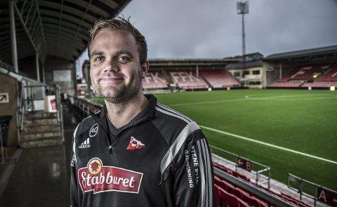 ASSISTENT: Aleksander Olsen blir Andrea Lobertos assistenttrener. foto: geir a. carlsson