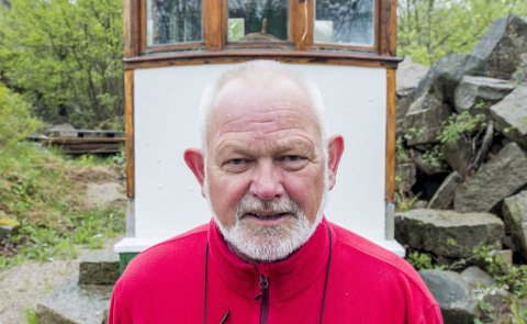 KULTURVERN: Leder av Hvaler kulturvernforening – Paul Henriksen – vil også slå følge med Svein Åge til den store hagefesten på Slottet.arkivfoto: erik Hagen