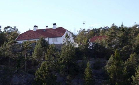 Det var her på Bloksberg i Hankøsundet kongeparet var 22. juli 2011.