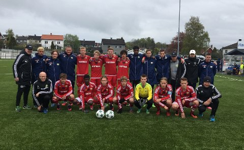 Kråkerøy jr-tropp mot Sprint Jeløy
