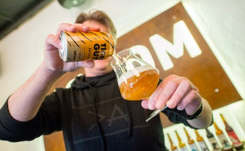 LYST: Ølen er en pale ale, men initiativtakerne har også en overraskelse til dem som er mer glad i pils. Det kommer nemlig en oppfølger.