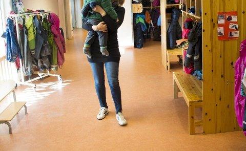 Høye utgifter: Ordinær drift i barnehagene i Fredrikstad drives billigere enn i mange andre kommuner. Likevel gikk etaten på en skikkelig budsjettsmell i fjor.