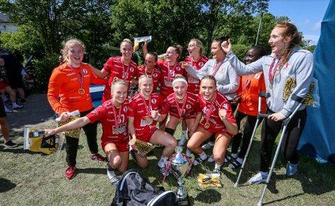 FBKs jenter 18-lag vant Fredrikstad Cup etter å ha beseiret Lillestrøm i finalen.