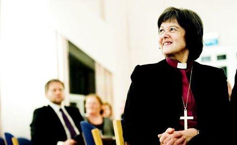 Gått av. Tidligere Borg-biskop, Helga Haugland Byfuglien, blir pensjonist i februar.