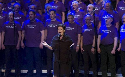 To drømmer: Marita Havaas Olsen fikk oppfylt to drømmer; å sette opp en musikal i Narvik, og å synge solo i den.