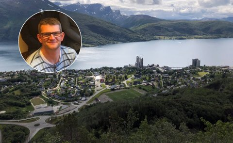 STYRER: Christian Aspheim ved Pæsatun barnehage i Kjøpsvik