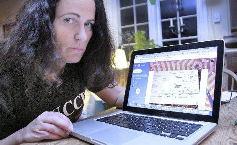 SVAR: Eidsiva Nett undersøkte mandag fakturaen til Grete Solløst grundigere, og mener at det ikke er noen feil på den.