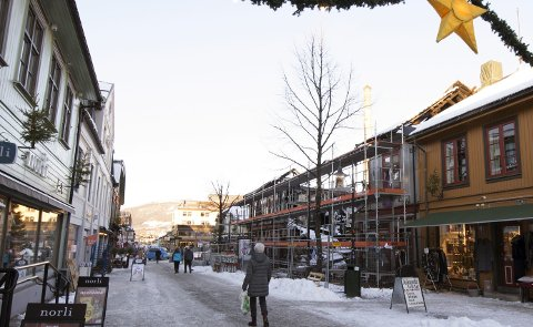 Byutvikling: Arkitekt Svein Klausen skriver om framdriften på branntomta Storgata 81, blant annet.Foto: Torbjørn Olsen