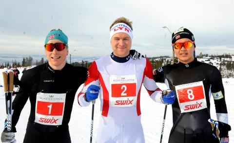 Vegard Vinje fra Lyn vant klassisk helmaraton foran Anders Høst og Petter Stokkeland.