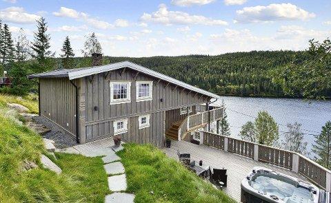 SØLVMYLLA: Prisen på hytta, som eies av Håkon Kristiansen, på Mylla senkes med 1,6 millioner kroner.