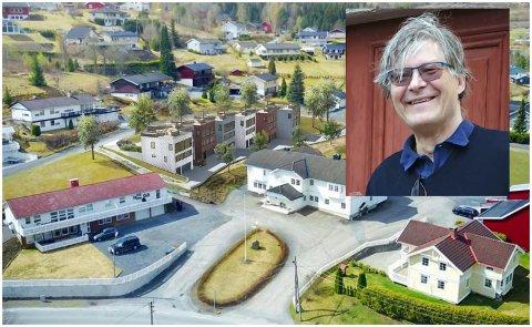 MANGE KVALITETER: Arkitekt Martin Brundell mener de planlagte boligene har mange gode kvaliteter.