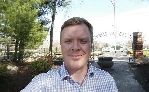 I BOSTON: Kenneth Akselsen fra SocialCee er i Boston som en del kompetanseprogrammet GET (Global Entrepreneurship Training). Foto: Privat