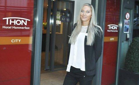 FULLT:  Johanna Lundqvist på Thon opplever gode tider.