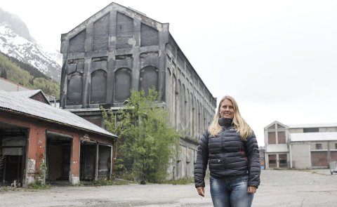 Aktivitet: Prosjektleder Elisabeth W. Hauge tror det vil bli mye aktivitet i og utenfor siloen.