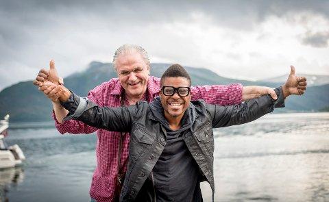 Arvid Martinsen og Freedom Bremner er sentrale i planen om å kombinere  Øyfjellet og funk.