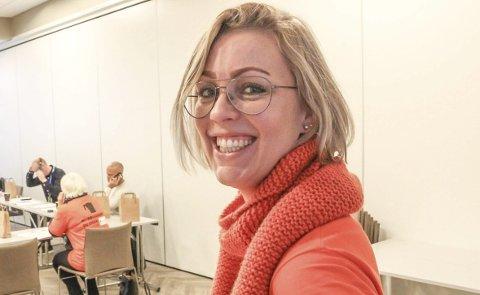 STYRELDER: Enhetsleder folkehelse i Vefsn kommune, Anne-Marit Almås Marken, har blitt valgt som styreleder i den landsdekkende organisasjonen Bad, Park og Idrett. Foto: Rune Pedersen.
