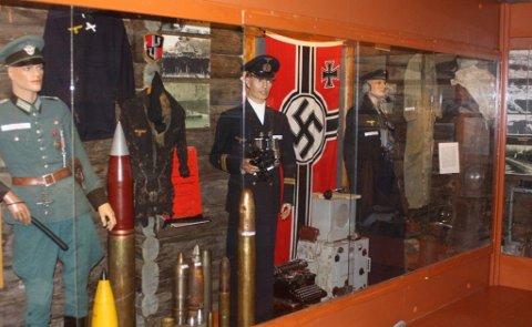 FRA SAMLINGEN: Kåfjord-museet har en av verdens største samlinger av foto og gjenstander fra slagskipet «Tirpitz».