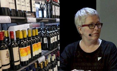 """STENGTE POLDØRER: At vinmonopolet i Vardø stenger, og man samtidig ber folk reise til nabobyen Vadsø og Varangerfestivalen for handle sine edle dråper, har ført til at folk er """"snyt forbanna"""" kan vardøværing Mona Marie Jenssen fortelle."""