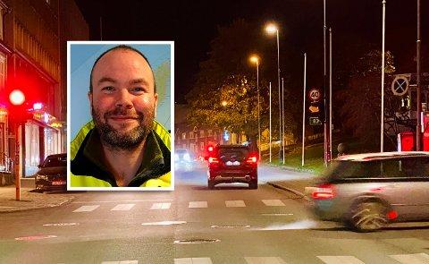 Byggeleder for drift og vedlikehold for fylket og Vegvesenet Erik Somby Iversen.