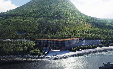 NÆRINGSOMRÅDE: M. Arvesen Eiendom utvikler Ånderkleiva Næringsområde øst for bygda Engenes.  Ånderkleiva Næringsområde består av et brutto areal på 26 818 m2