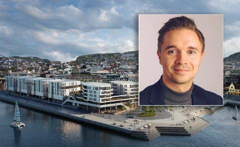 Erik Hansen sier at det er stor interesse for Byhagen.