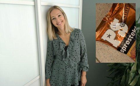 MYSTERIET LØST: Etter stor engasjement blant leserne, fant endelig blogger Christina Sandnes Kihlman ut hva «PS» på posen med sprøstekt løk står for.