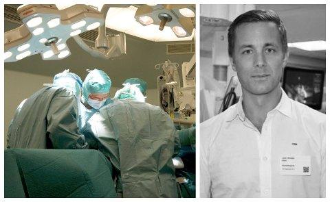 LEDER: John Christian Glent er leder i Norsk kirurgisk forening.