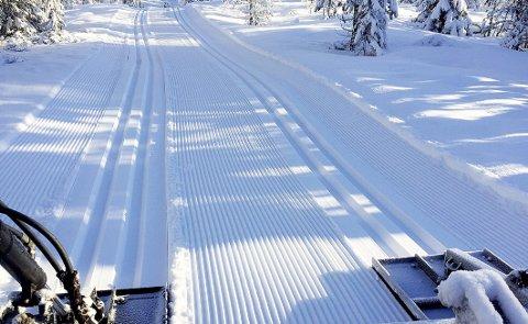 Flott i helga: Det ligger an til et flott skiføre i helga, med bra vær, men fortsatt kaldt. Arkivfoto