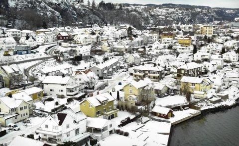 SKATTLEGGING?: Spennende tider for boligeiere her i Holmestrand kommune. Foto: Ulrikke Granbakken Narvesen