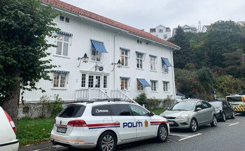 Kragerø politistasjon.
