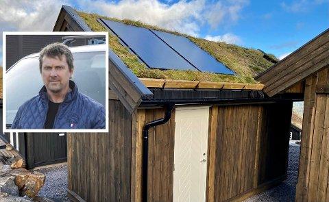 NYTT KONSEPT: Øystein Nilsen har testet ut prosjektet på sin egen fritidseiendom på Gautefall.