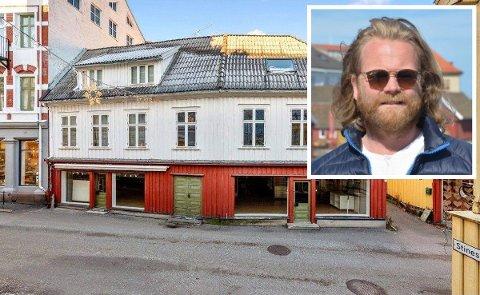 SELGER: Christian Hestenes kjøpte Torvgata 18A via eiendomsselskapet Vognmannsgaarden AS i fjor sommer.
