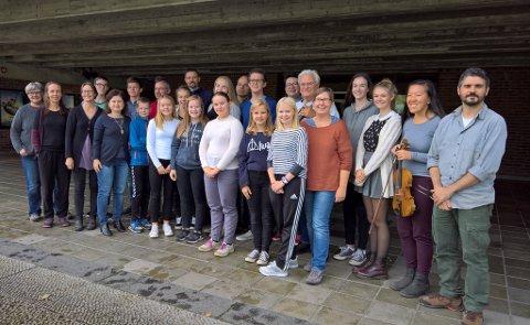 TIL VALEN: Sunnhordland Kammerorkester fotografert hausten 2016. (Arkivfoto).