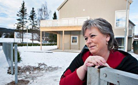 Nye Kongsberg krisesenter Daglig lede Anita Skullestad FOTO: STÅLE WESETH