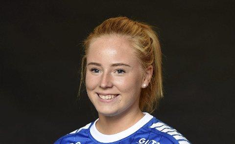 TOPPSCORER: Andrea Gabrielsrn scoret sju mål for Skrim i oppgjøret mot Notodden.