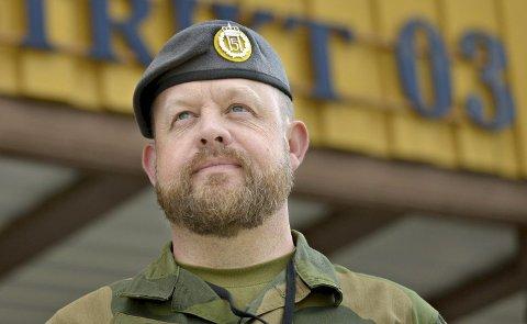 SJEF: Oberstløytnant Morten Sundal er distriktssjef for Telemark og Buskerud heimevernsdistrikt 03.