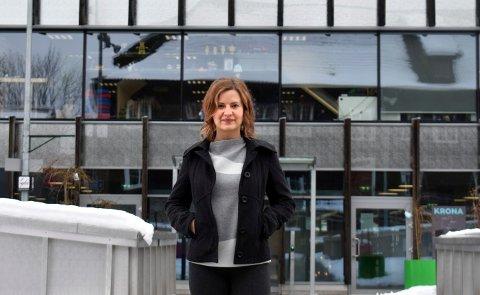 """Alina Steshenko skal være med på samlingen """"Jenter og teknologi"""" 3. februar i et forsøk på å få flere kvinner til å søke på ingeniørstudier."""