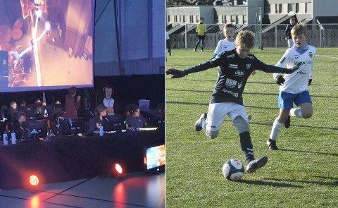 Klart for eFotball: Lier IL starter nå opp med eFotball - en kombinasjon av e-sport og fotball, der det konkurreres i spillet FIFA.